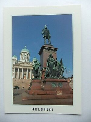 Postcard Finland, Helsinki, The Cathedral, Suomi
