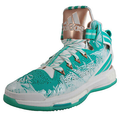 d0f7f3217013 Adidas D Rose 6 Boost Limited Edition Pro Mens Basketball Shoes Trainers  Green