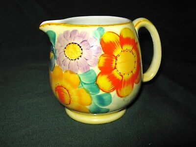 Susie Cooper Grays Pottery Art Deco Floral Jug