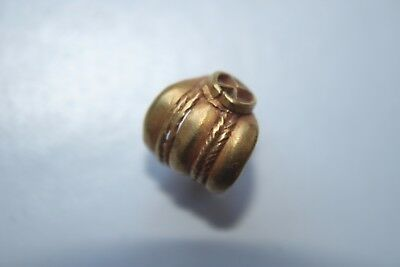 ANCIENT GREEK GOLD HELLENISTIC HAIR RING 3rd CENTURY BC