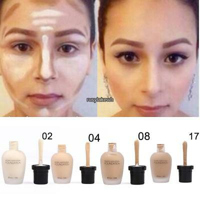 Fashion Women Cosmetic Professional Neutral Face Liquid Makeup Concealer RLWH