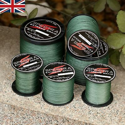 Super Strong 100-1000M  Dyneema Spectra Sea Braided Fishing Line FastShipping UK
