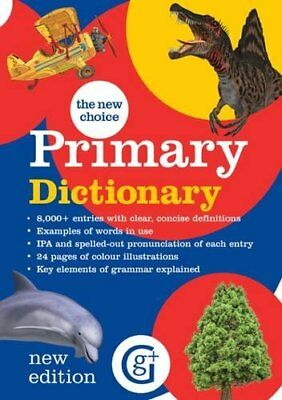 The New Choice Primary Dictionary By Betty Kirkpatrick,The editor is Eleanor Ab