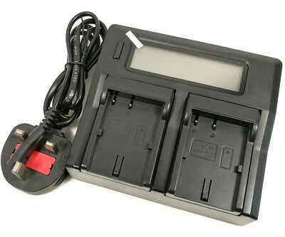 Quick LCD Battery Charger For Canon BP-511 EOS 10D 20D 30D 40D 50D PowerShot G5