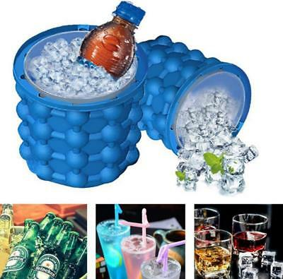 New Ice Magic Cube Maker Genie Silicone Ice Bucket T