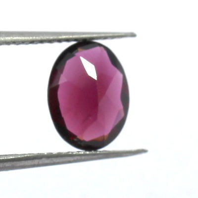 1.80 Carat Natural Garnet Loose Gemstone 9X7mm Oval Faceted Cut S216