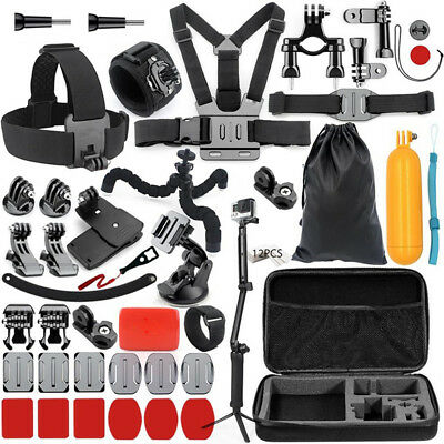 Accessories Kit Head Chest Strap Mount for Gopro Hero 6 5 4 3+/Xiaomi Yi 4K H9R