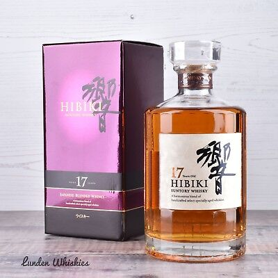 Suntory Hibiki 17 Year Old Japanese Blended Whisky 700ml
