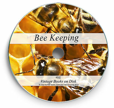 200 Rare Vintage Books on DVD - Learn Bee Keeping Rear Queen Hive Honey Suit D2