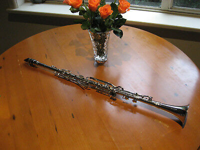 ALBERT SYSTEM CLARINET G (Sol) or simple system Metal
