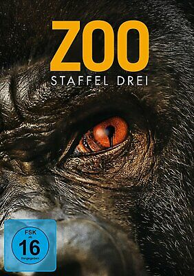 Zoo - Season/Staffel 3 (James Wolk) # 3-DVD-BOX-NEU