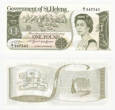 ST. HELENA £1 Banknote (1982) P.9a - UNC.