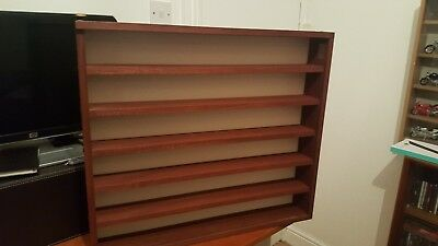 wooden wall mounted display cabinet