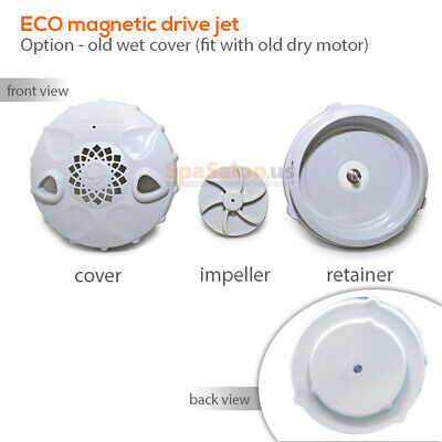 ECO magnetic pipeless jet cover for spa pedicure chairs