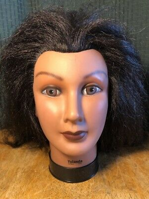 Celebrity Yolanda Cosmetology Yak Hair Manikin Excellent Condition