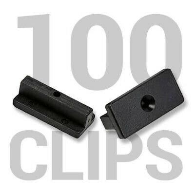 Pack of 100 Starter Clips Composite Deck Fixings WPC Stainless Steel Decking