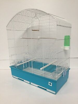 Dora XL Bird Cage for Finch Budgie Canary Finch Cockatiel Parrot Black or White