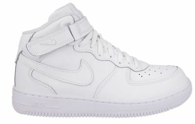 357be7f7 NIKE AIR FORCE 1 Mid Youth PS Little Kids Shoes 314196-113 Size 11.5 ...