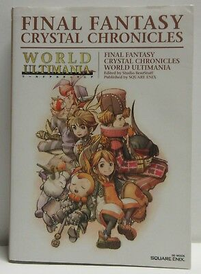 Final Fantasy Crystal Chronicles World Ultimania Paperback Book in Japanese