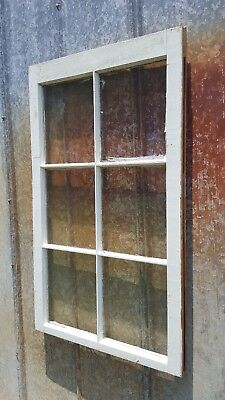 Antique Wood Window Picture Frame Pinterest Rustic Wall Decor Wedding 40X24