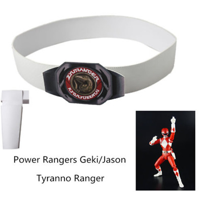 Power Rangers Zyuranger Geki Cosplay Tyranno Ranger Carnival Belt With Holster