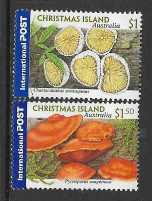 Christmas Island 2001 Fungi Mushrooms MNH