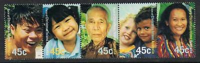 Christmas Island 2000 Faces MNH