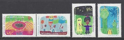 Christmas Island 1999 Festivals Children's Paintings MNH