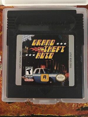 Grand Theft Auto Original Nintendo Gameboy Clean Tested Authentic