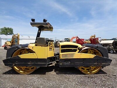 2010 Bomag BW284 AD Double Drum Roller, Vibratory, 2 Speed, 3,329 Hours