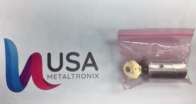 NEW KABA Aura Electronic Cabinet Cylinder Lock and Dimple Key  LK4663 B