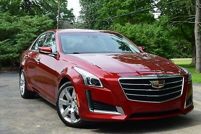 2016 Cadillac CTS LUXURY-EDITION/PANORAMIC/CAMERA/NAVIGATION 2016 Cadiilac CTS Luxury Edition Sedan 4-Door 2.0L Turbo / No Reserve!!