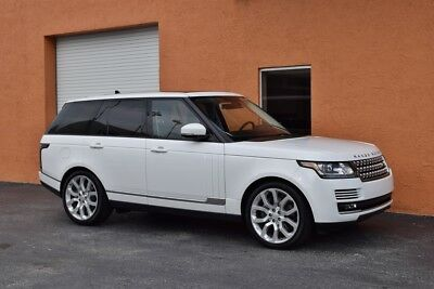 2016 Land Rover Range Rover HSE 1 Owner-4x4 -V6 Supercharged FACTORY WARRANTY -Loaded- Well Maintained
