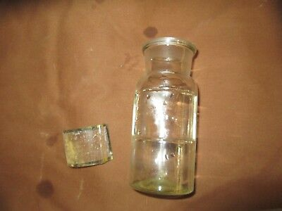 ANTIQUE -Bottles--Apothecary-PHARMACIST BOTTLES LOT OF 1