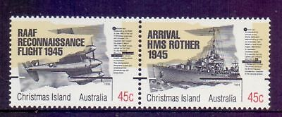 Christmas Island 1995 50th Anniversary End of WWII MNH