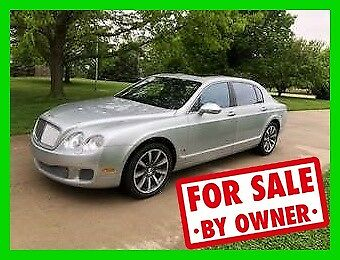 Bentley Continental Flying Spur  2012 Bentley Continental Flying Spur Luxury AWD Turbo 6L W12 552HP Automatic