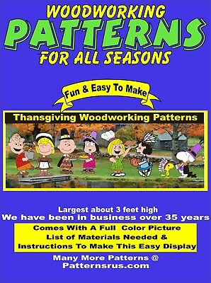 Whimsical Nativity Set Yard Art Christmas Woodworking 10 Pattern In Set Plan 24 95 Picclick