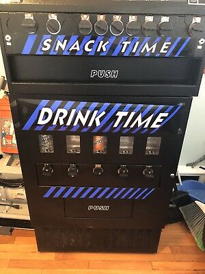 Soda and snack vending machine