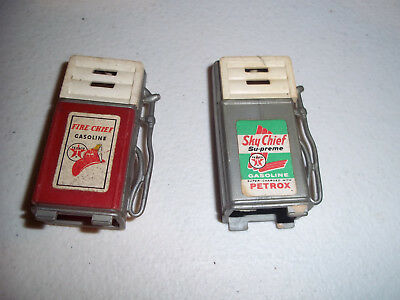 Vintage Sky Chief Plastic Mini Gas Tank Pair