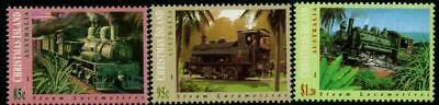 Christmas Island 1994 Steam Locomotives  MNH