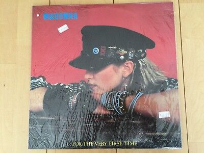 Madonna For the very first time double LP Susha 1986 Rare japanese vinyl