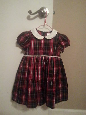 99ff749c4bc54 GYMBOREE BABY GIRL Dress & Headband Size 18-24 Months Occasion Plaid ...