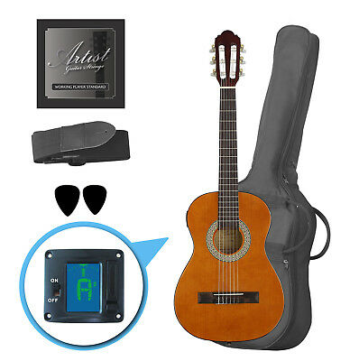 Customer Returned Artist CL12AM 1/2 Size Classical Guitar Pack, Nylon String - A