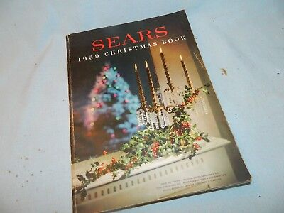 Vintage Orig 1959 Sears Roebuck And Co Christmas Book Department Store Catalog
