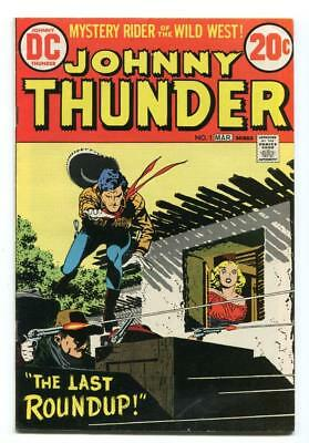 Johnny Thunder #1 - Classic Alex Toth Cover And Two Stories - 1973
