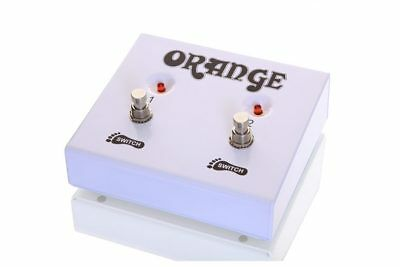 Orange FS-2 double footswitch for Rockerverb,Thunderverb (Reverb & Channel) etc