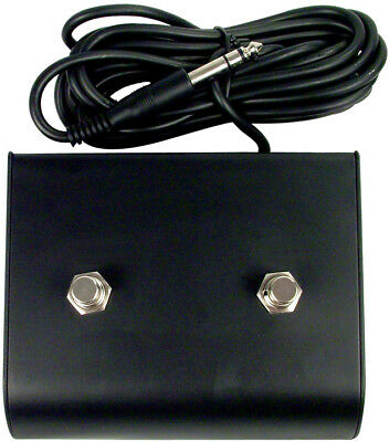 Marshall JCM900 style 2 button footswitch.Suits some Vox etc w/stereo plug