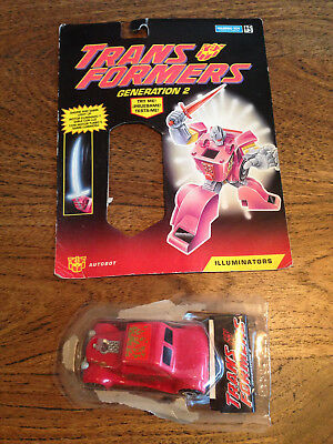 Transformers Generation 2 Laser Rod Autobot Volt with packaging