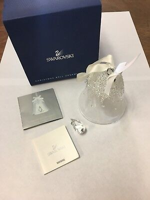 Swarovski Crystal 2015 Annual Edition Large Christmas Bell Ornament