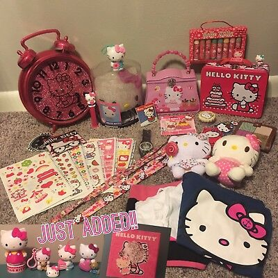 Huge! 30 items Hello Kitty Sanrio Lot - new and used
